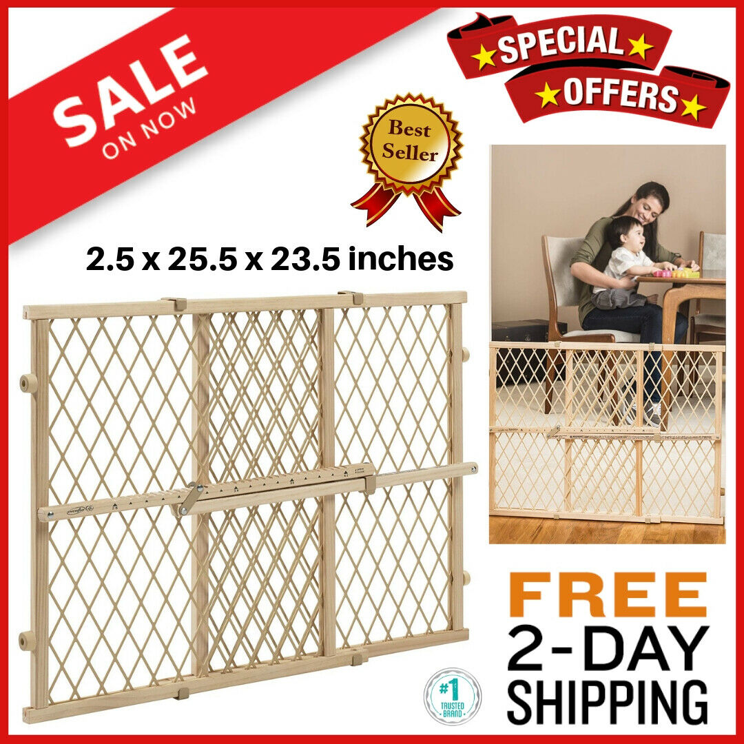 Evenflo Baby Gate Safety Fence Child Protection Wood Door Do