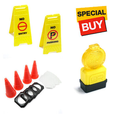 Yeah Racing 1/10 Scale Traffic Sign / Cone / Barricade Light Accessories