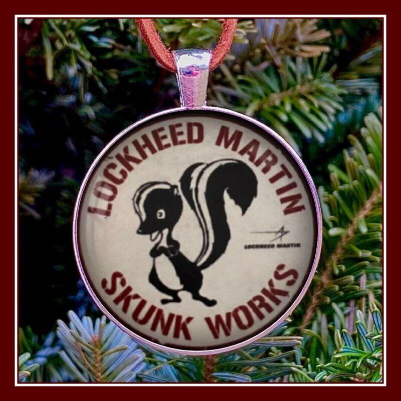 Lockheed Martin Skunk Works Sign Photo Ornament Gift