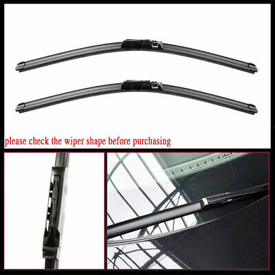 FOR Audi A6 C6 S6 Front Windshield Wiper Blades set of  factory style  2005-2011