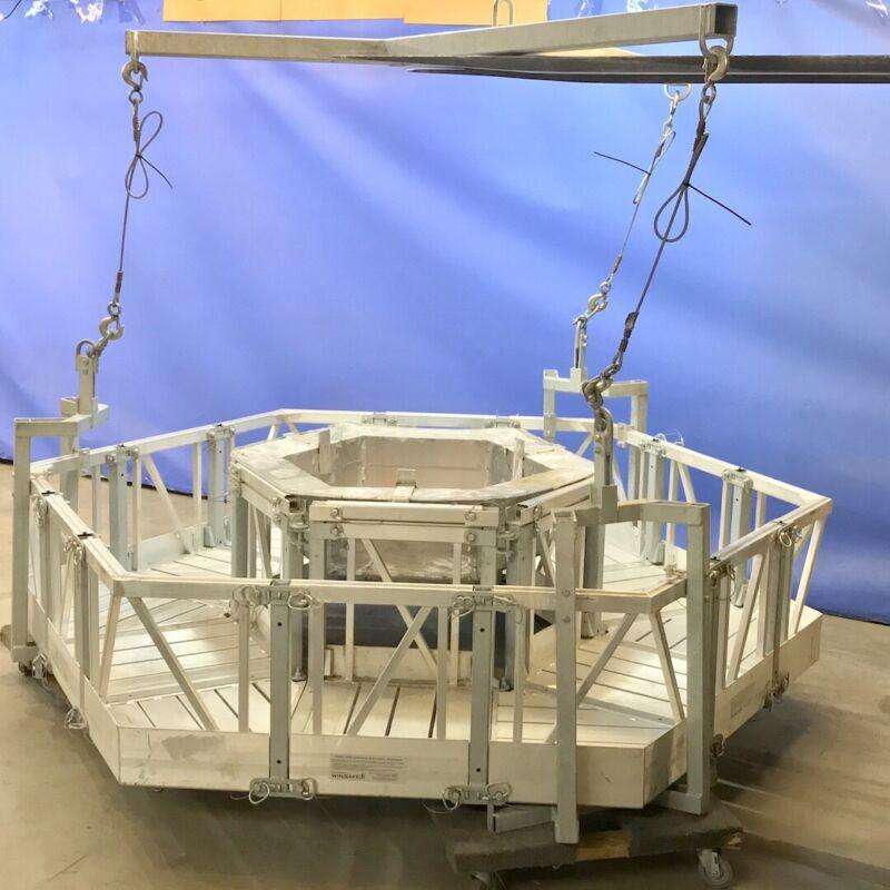 Winsafe MOD 1098 SuperMod Circular Cell Tower Rigging Platform Scaffolding Stage