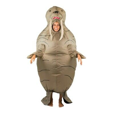 Bodysocks® Walrus Sea Lion Seal Ocean Sea Inflatable Costume funny for Adults (Sea Lion Kostüm)