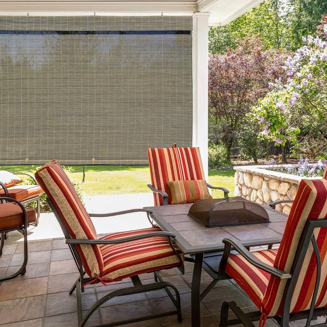 outdoor window shade blind cordless exterior patio