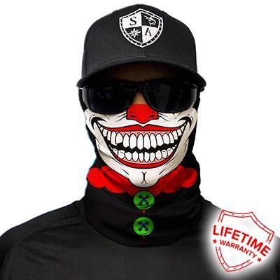 Clown Face Masks (Salt Armour Face Mask Shield Protective Balaclava Alpha Defense)