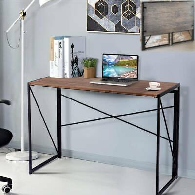 Large Foldable Computer Desk Folding Laptop PC Table Home Office Study Gaming