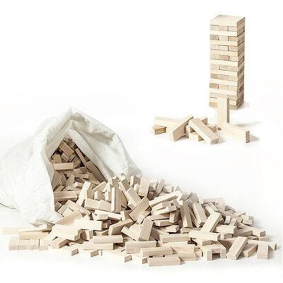 1000 Bausteine Holz Bauklötze Buche natur Holzpielzeug Holzbausteine Holzklötze