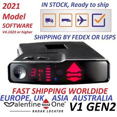 2021 VALENTINE ONE V1 GEN2 RADAR LASER DETEKTOR US EU EURO INTL ASIEN CA UK AU NZ
