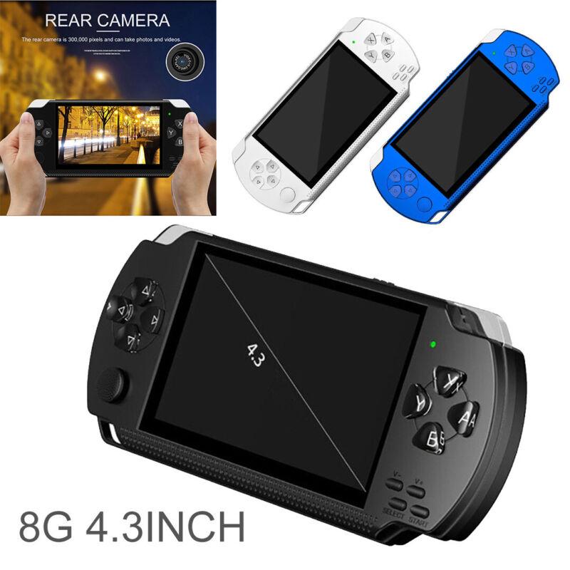4.3'' Tragbarer Handheld Videospiel Konsolen Spielkonsole Kinder player mp4