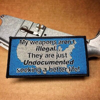 Big undocumented Seeking Better Life  Morale Patch 80% Builders Hook And