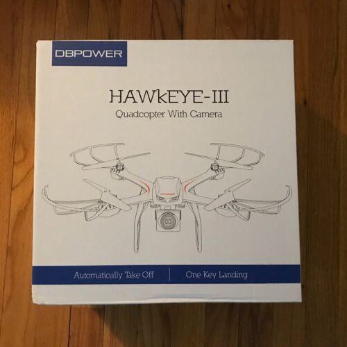 DBPower Hawkeye III X101c RC Drone HD 720p WiFi Camera Quadc