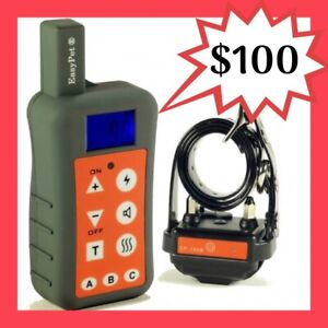 1200M EASYPET EP-380R REMOTE TRAINING DOG ANTI BARK STOP COLLAR