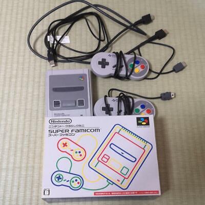 Nintendo Classico Mini Super Famicom Grigio Console