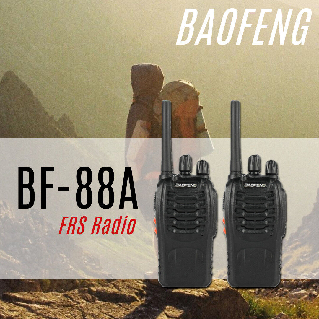 2x Baofeng BF-88A FRS Radio 462-467MHz Long Range Portable T