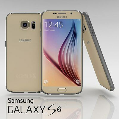 Samsung Galaxy S6 Sm G920v 32Gb   Gold  Verizon 9 10 Burnt Image