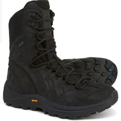 """Merrell Thermo Rogue Tactical Ice+ Winter Boots Waterproof Insulated 8"""" 9 9.5 10 Ice Winter Boots"""