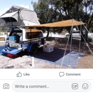 Camper trailer Old Beach Brighton Area Preview