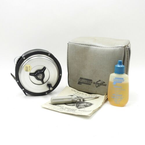 Pflueger Supreme 578 DA Fly Fishing Reel. Made in USA. W/ Case.