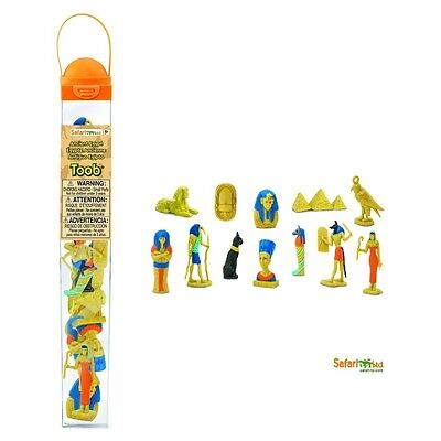 Leben im Alten Ägypten (12 Minifiguren)  Serie Themengebiet Safari Ltd 699304