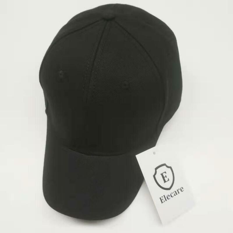 5G Cell Shielding 99.9% High Quality Anti Radiation Cap EMF Protection Hat Black