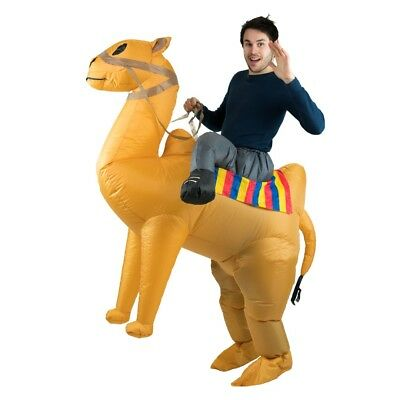 Bodysocks® Inflatable Camel Desert Middle East Arabian Ride Costume (Adult)](Inflatable Camel Costume)