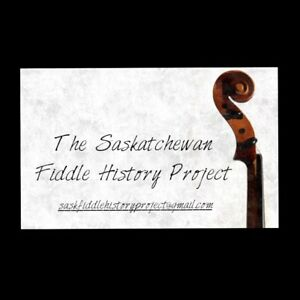 Saskatchewan Fiddle History Project