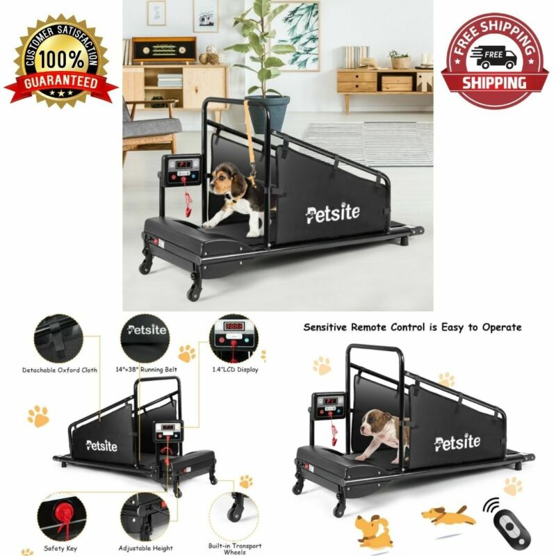 Remote Control Dogs Treadmill Indoor Exercise Training Equipment Adjustable NEW