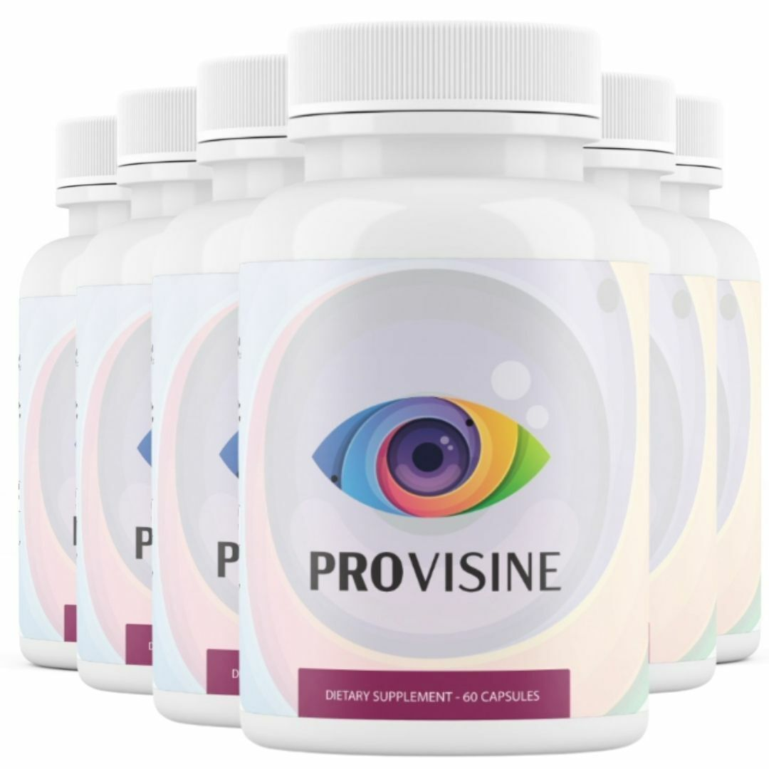 6 Bottles Provisine - Vision Support 60 Capsules x6