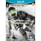 Tom Clancy's Splinter Cell: Blacklist MA Rated 15+ Video Games