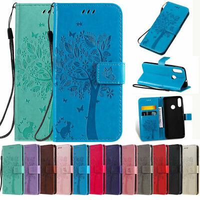 For Motorola Moto E6 G7 Plus G5s G6 2018 Case Magnetic Leather Wallet Flip Cover