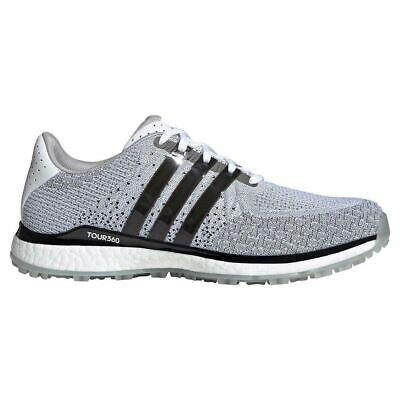 ADIDAS Golf Tour 360 XT-SL Textile Waterproof Spikeless Golf Shoes White/Black
