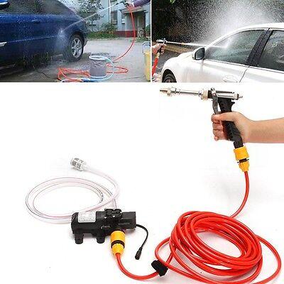 Portable Water Pump 12v 70w High Pressure Wash Washer Self-priming Car Electric