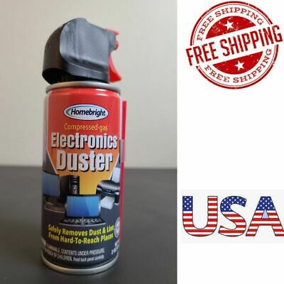 Air Duster Electronics Computer Monitor Keyboard dust Remover Spray 2oz USA*
