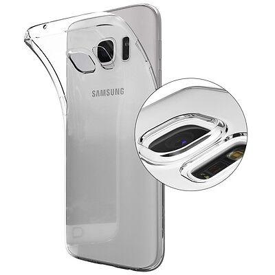 Dolphin© Samsung Galaxy S7 Edge Case Ultra Slim Hülle Cover Transparent Silikon