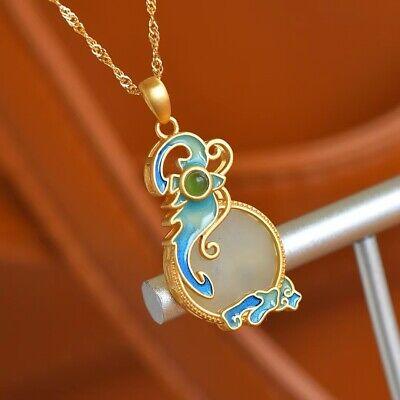 Wicca Boho Hippie Magical Native American Mermaid Seashell Claw and Jasper Stone Hemp Necklace Hippy Witch Bohemian
