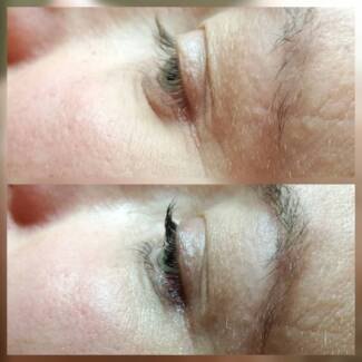 Eyelash lift $50 West End