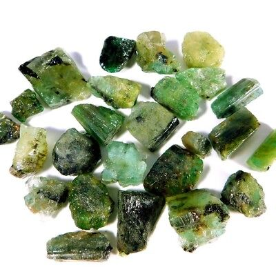 *Top*Quality*Natural*Green*Emerald*161.00Cts*Speciman*Lot*Rough*Loose*Collection