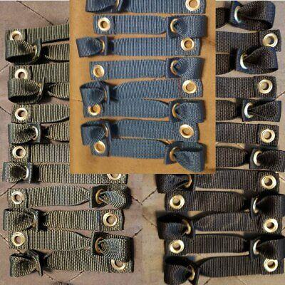 Tie Cords Fowl Leg Hitches Nylon 12pcs Heavy Duty