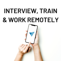 Work from Home - Interview and Train Remotely