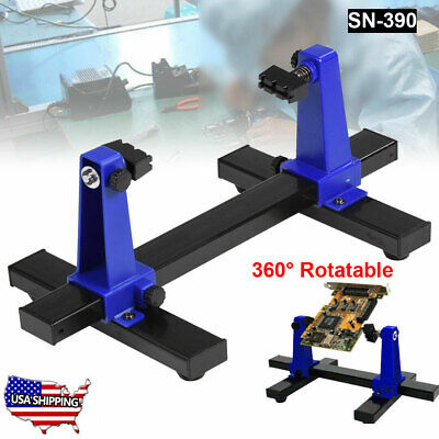 PCB Holder Adjustable 360° Printed Circuit Board Soldering Assembly Clamp Tool