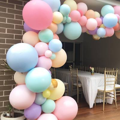Pastel Candy Balloon Arch Wedding Bridal Shower Party Backdrop Wall Decoation (Pastel Balloons)