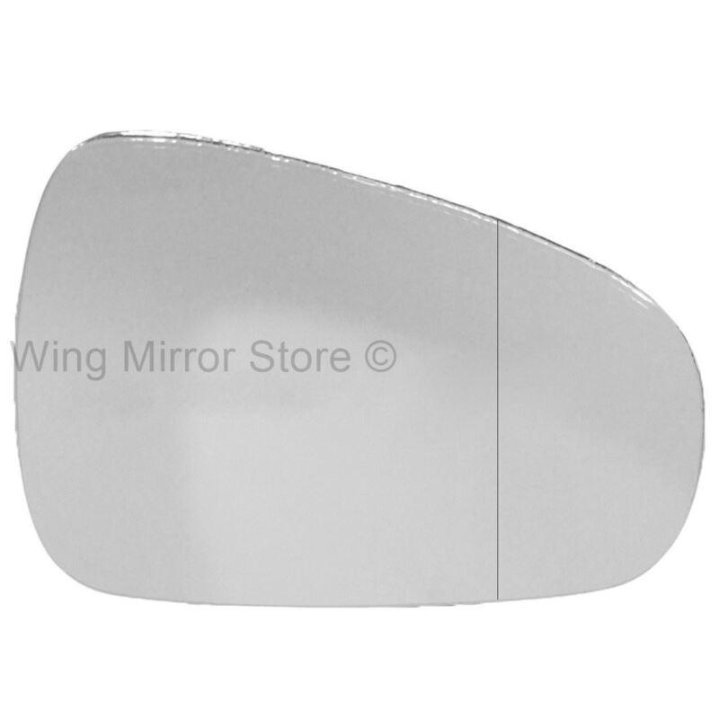 Left hand passenger side For Lexus CT 200 10+ wide angle wing door mirror glass