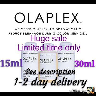 Olaplex|No1(15ml)&No2(30ml) Fast&Free (100% AUTHENTIC