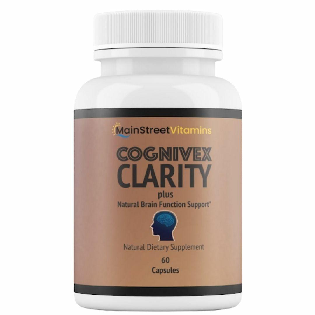 Cognivex Clarity Plus Brain Health - Advanced IQ Brain - 60 Capsules