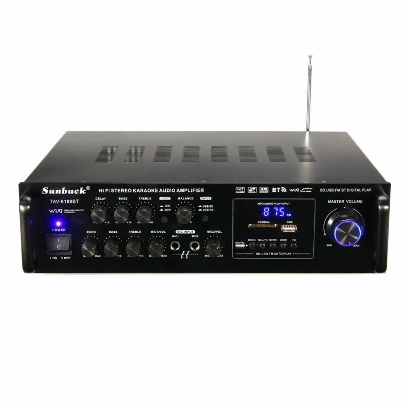 2000W 110V 5CH Digital Amplifier HIFI bluetooth AMP Stereo A
