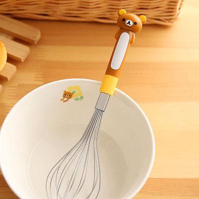 San-X Rilakkuma Relax Bear Kitchen Cooking Whisk Eggs Beater Mixer Eggbeater