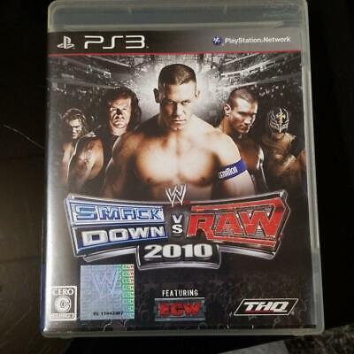 PS3 WWE Smackdown vs Raw 2010  10889  Japanese ver from Japan, usado comprar usado  Enviando para Brazil