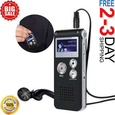 Paranormal Ghost Hunting Equipment Digital Evp Voice Activated Recorder Usb