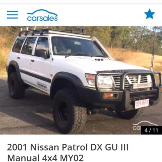 Gu patrol td42 2002
