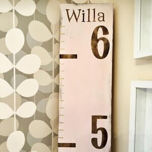 Children's Wooden Growth Charts