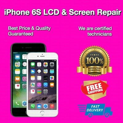 Apple iPhone 6S Cracked Screen Glass and LCD Repair Replacement Service